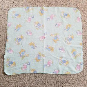 Beatrix Potter Peter Rabbit Fleece Blanket 40x37